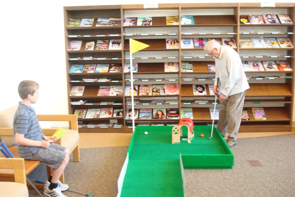 Mini Golf Course Rental Marshall Community Library
